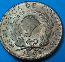 Colombia  Moneda 5 centavos 1953 UNC