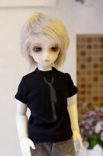 [PF] 766# Black T-Shirt with Cool Print Tie  For 1/3 SD DZ LUTS BJD Dollfie