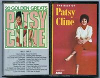 Lot of 2 Patsy Cline country cassette tapes I Love You Honey Crazy she's got you