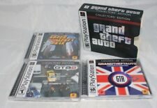 Grand Theft Auto Collectors' Edition (Sony PlayStation 1, 2002) Complete in Box