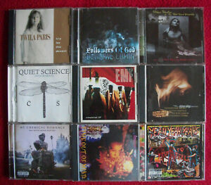 Lot of 72 Indie, Rock, Rap, Blues, Soul, Folk, Metal, Art, Indie..CDs - Blowout!