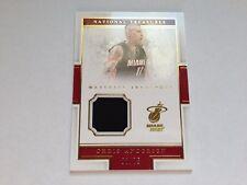 Chris Andersen 2015/16 Panini National Treasures Gold Material Jersey Card #/75