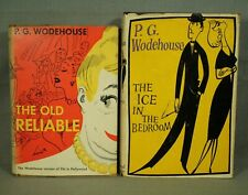 P G Wodehouse The Ice in the Bedroom The Old Reliable vintage old books
