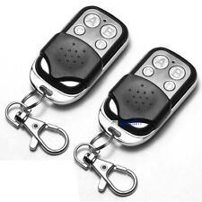 2 x Universal Cloning Remote Control Key Fob for Car Garage Door 433mhz GI  AQ