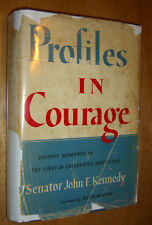 Profiles in Courage by John F. Kennedy JFK First Edition 1956