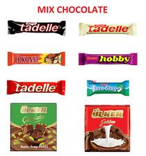 Ulker Hobby Tadelle Halal Chocolate Hazelnut Bar 30 GR (24 PCS) FREE SHIPPING