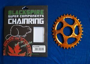 Blackspire Snaggletooth Oval Chainring 32T Raceface DM Orange Cinch Boost NEW
