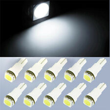 10x Mini Car Dashboard Instrument Panel Lights T5-5050 1SMD LED Bulbs
