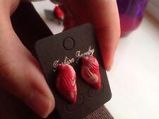 Fimo Multicolour Shell Stud Earrings