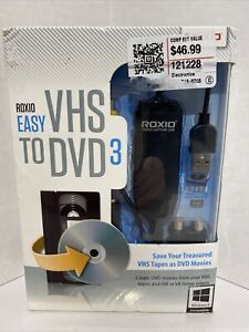 ROXIO Easy VHS to DVD 3 to Convert VHS Tapes to DVDs (253000CS) - Factory Sealed