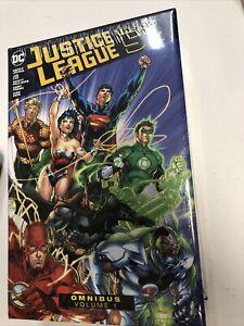 Justice League  Omnibus Vol.1 DC Comics  TPB HC  Geoff Johns