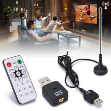 Digital Usb 2.0 Dvb-T Mobile Hdtv Tv Tuner Dongle Stick Receiver Antenna +Remote