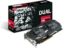 ASUS AMD Radeon RX580 8GB GDDR5 Graphics Card (DUAL-RX580-O8G)