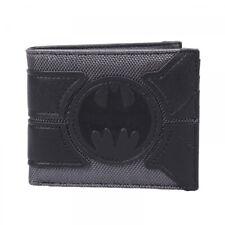 Logotipo oficial DC COMICS BATMAN Negro Bi Fold Wallet en Caja De Regalo