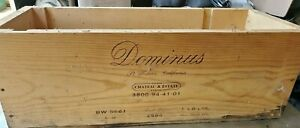 Rare Dominus 1994 Wine Box Crate 6 Liter Bottle St Helena Napa Estate Vineyards