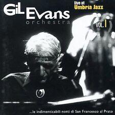 GIL EVANS - LIVE AT UMBRIA JAZZ, VOL. 1 NEW CD