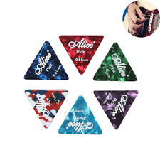 20pcs Professional Alice Celluloid Guitar Picks Equilateral Triangle Plectrums