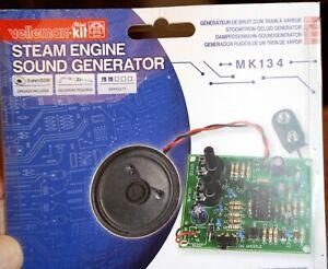 Velleman Steam Engine Sound Generator MK134 New in Box  S O On3 G