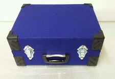 Northern soul 7inch record box case, retro blue singles  FREE POSTAGE