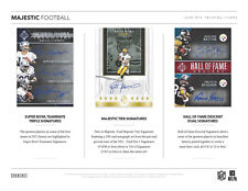 WASHINGTON REDSKINS 2018 PANINI MAJESTIC FOOTBALL 3 BOX HALF CASE BREAK #9