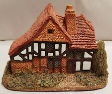 Lilliput Lane Cottage Rare Oak Lodge c1982-87 Made in England AsIs Chips on Roof