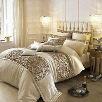Kylie Minogue at Home Alexa Gold Bed Linen & Matching Accessories. Free Delivery
