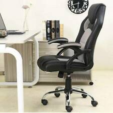 Executive High Back PU Leather Computer Desk Ergonomic Task Office Chair