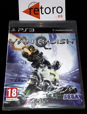 VANQUISH Sony PS3 PlayStation 3 PAL Español NUEVO Precintado NEW Platinum Games