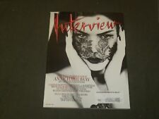 2011 SEPTEMBER INTERVIEW MAGAZINE - ANNE HATHAWAY COVER - B 1403