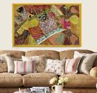 33% Off Embroiderd Home Wall Hanging Wall Decor Patchwork Bohemian Tapestry