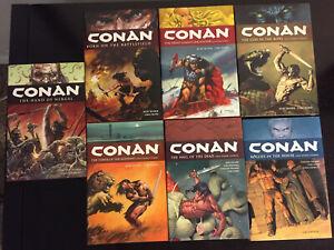 Conan Dark Horse Hardcover Lot of 7 books!