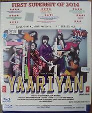 YAARIYAN (2014) HIMANSH KOHLI, RAKUL PREET - BOLLYWOOD BLU-RAY