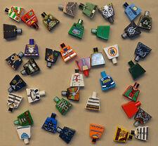 40 Lego Random Minifig Torso's NO ARMS or HANDS RANDOM MINIFIG PARTS