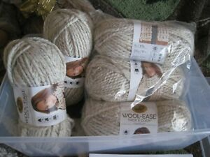 Lion Brand Wool-Ease Thick & Quick Sonoma Sweater Kit