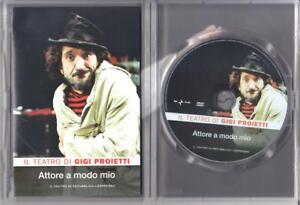 Attore a modo mio (1974-84) - il teatro di Gigi Proietti - dvd ottime condizioni