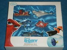 Disney Pixar 'FINDING DORY' Retired Ornament 5-Piece Set 2016 (Boxed Gift) Nemo