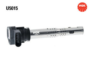 NGK Ignition Coil U5015 fits Volkswagen Passat 1.8 TSI (365) 118kw, 1.8 TSI (...