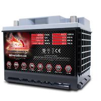 Full Throttle FT610-47 Group 47 AGM Power Cell Car Audio Battery Full River