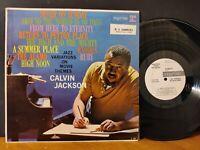 CALVIN JACKSON - JAZZ VARIATIONS ON MOVIE THEMES 1961 Promo Vinyl LP VG+