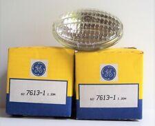 2 New Old Stock Genuine GE Light 6v 1.33A Number 7613-1 USA Made