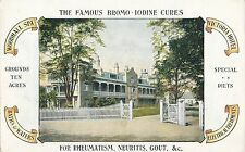POSTCARD  ADVERTISING  The  Famous BROMO - IODINE  Cures