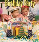 Plastic Canvas Birthday Party Centerpiece Gift Box Hats Tissue Cover Pattern