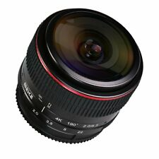 MEIKE 6.5mm APS-C F/2 Wide Angle Manual Focus Fisheye Lens for Micro Four Thirds