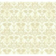 York Wallcoverings GG4735 Soft Champagne / Palest Linen Beige Beige Book