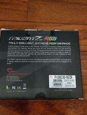 NEW G.SKILL TridentZ RGB Series 16GB (2 x 8GB) DDR4 SDRAM F4-3200C16D-16GTZR