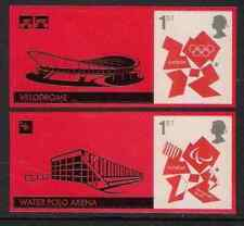 GB 2012 LS82 Olympic Paralympic Games Smiler Sheet 2 Single Stamps & Labels MNH