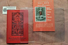 CLEAR PLASTIC COVER FOR LARGE TYPE PIETA PRAYERBOOK AND OTHERS PICTURED