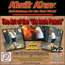 """The """"ART OF THE SIX INCH PUNCH"""" training DVD, for Boxing, MMA, & Self Defense"""