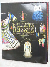 BALLETS RUSSES Art Russian Ballet Costume Fashion Photo Book Anna Pavlova Ltd