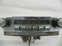 VINTAGE ORIGINAL 1955 DESOTO DASH RADIO UNTESTED WITH KNOBS RARE MOPAR# 834